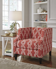 Sansimeon  Geometric Accent Chair