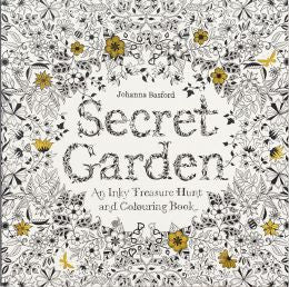 Secret Garden: An Adult Coloring Book