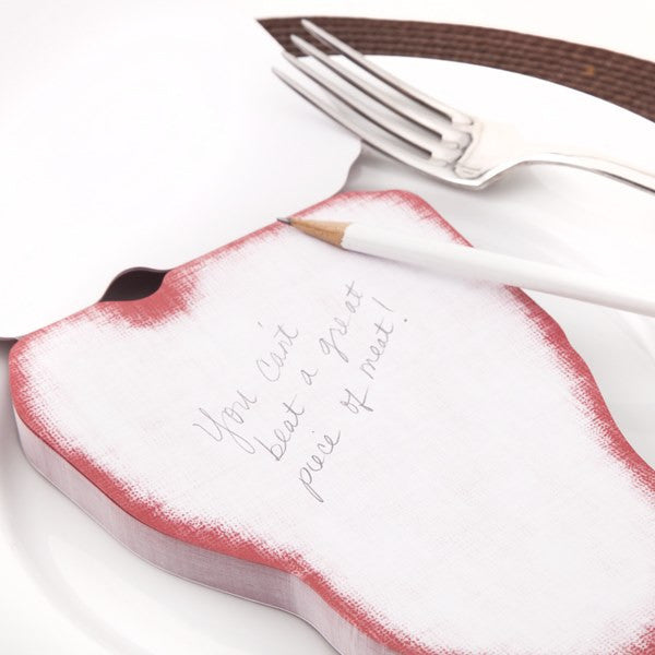 T-Bone Steak Notepad