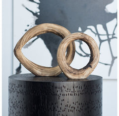 Wood Ring Sculpture