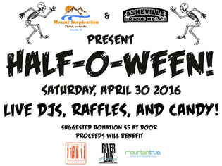 "Mount Inspiration and Asheville Music Hall Present: ""Half-O-Ween"""