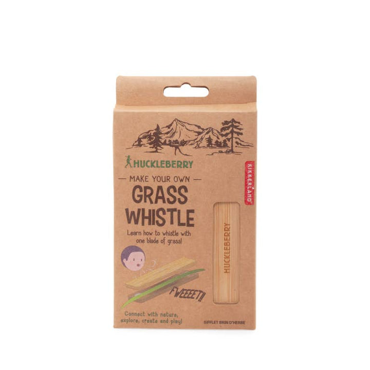 Grass Whistle - Huckleberry by Kikkerland