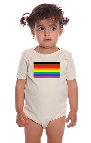 Pride Flag Baby One Piece