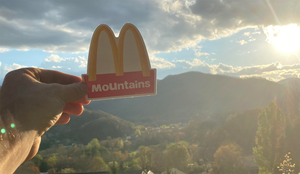 McMountains Sticker (McDonald's Parody)
