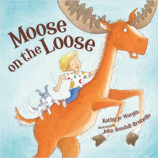 Moose on the Loose Children's Picture Book