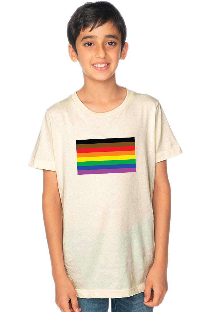 Pride Flag Youth Tee