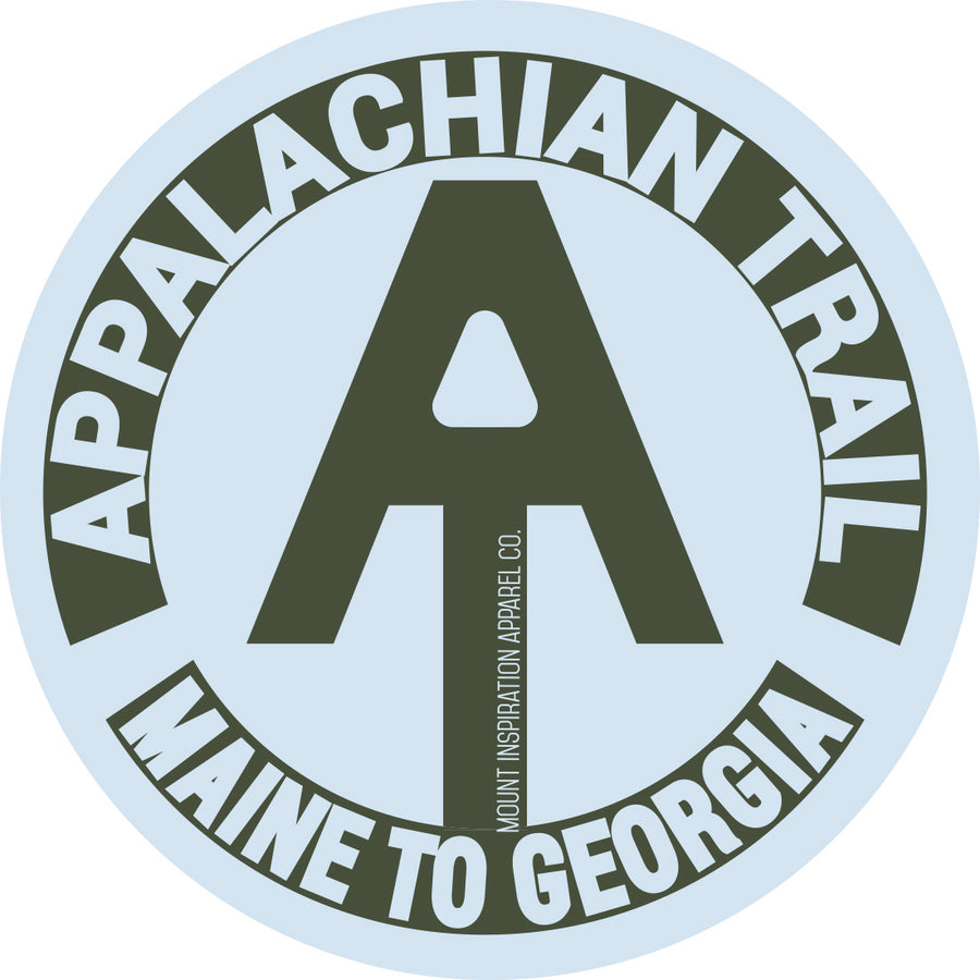 Appalachian Trail, Maine to Georgia Sticker
