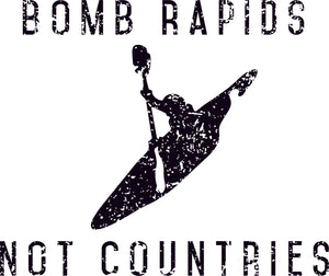 Bomb Rapids Not Countries Sticker