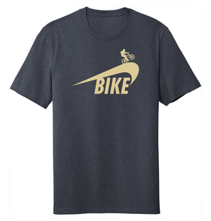 Bikey Unisex Tee (rPET, Recycled Cotton Blend)