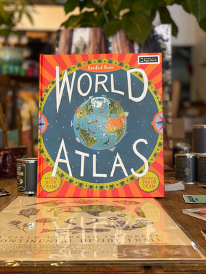 Barefoot Books World Atlas Children's Book By: Nick Crane