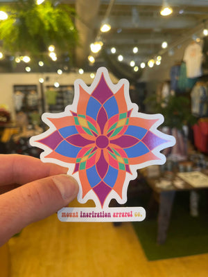 Pretty Flower Sticker