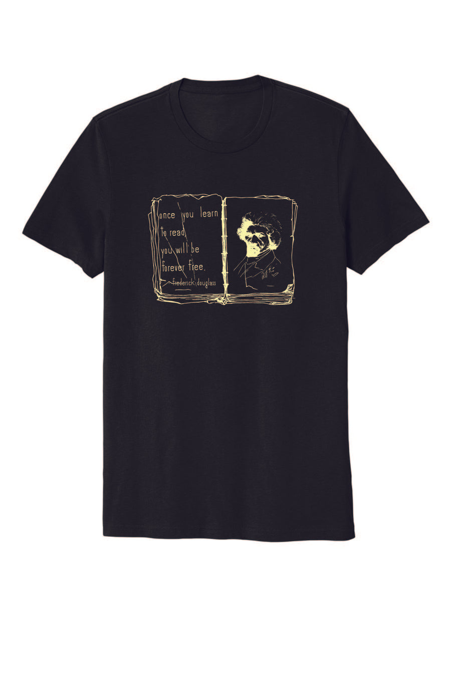 Literacy Together Fredrick Douglas Short Sleeve Cheritee Collab