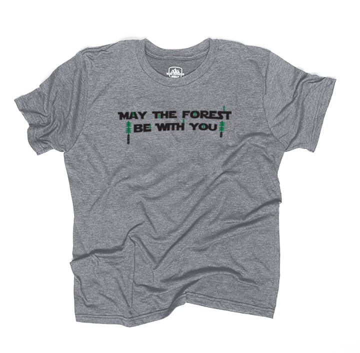 May The Forest Be With You Tee (Eco-Friendly Triblend)