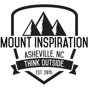 Mount Inspiration Vintage Badge Logo Sticker