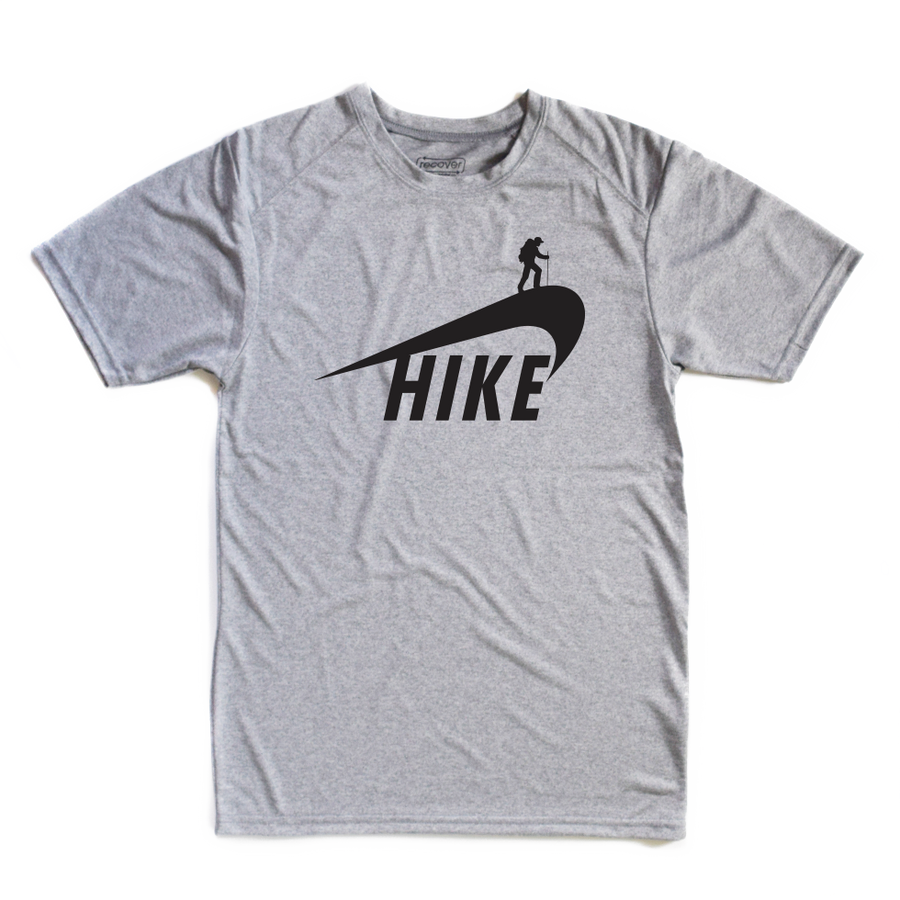 Grey Hikey 100% Recycled Fabric Shirt