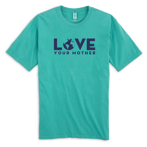 Love Your Mother Seafoam (100% Organic Cotton) Short Sleeve