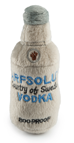 Arfsolut Vodka Plush Dog Toy