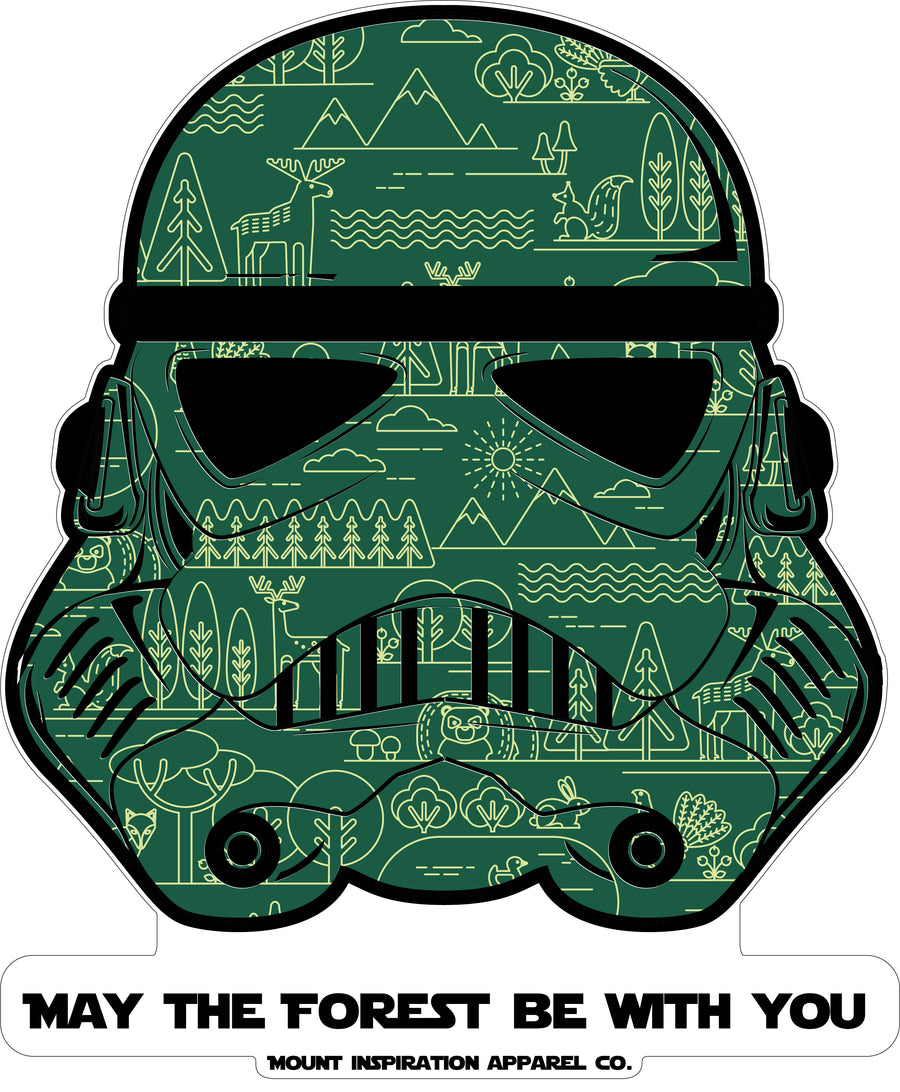 "May the Forest Be With You ""Storm Treeper"" Edition (100% Organic Cotton)"