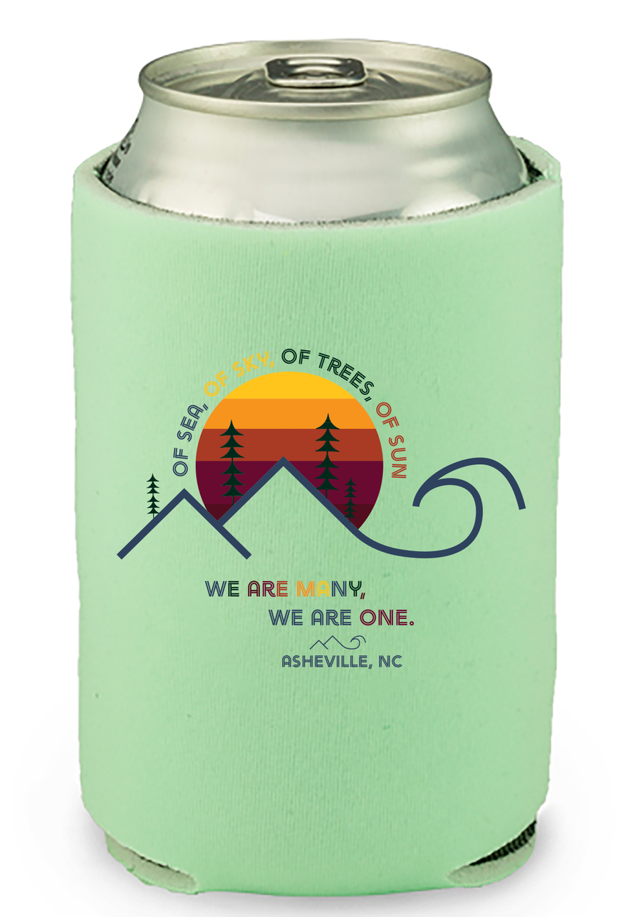 Of Sea, Of Sky... We Are One Coozie
