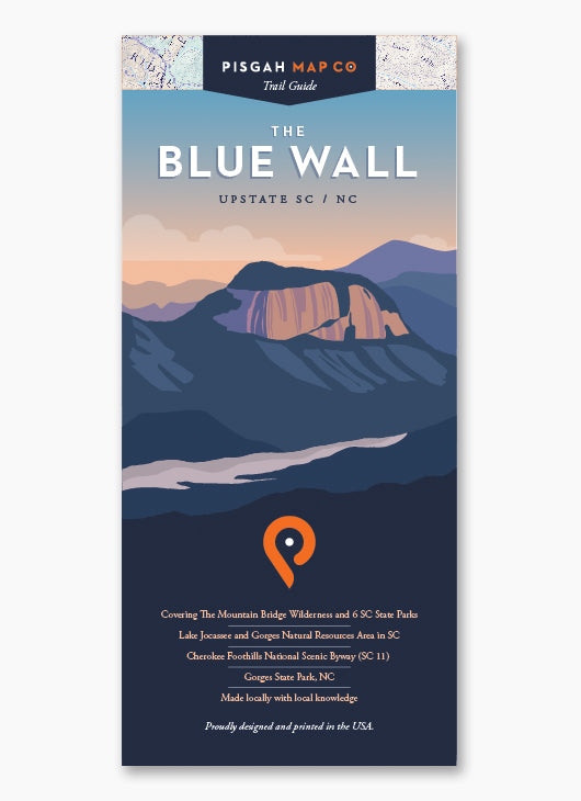 The Blue Wall Map