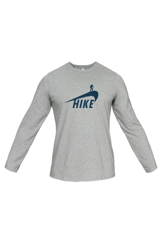 Hikey (Nike Parody) Long Sleeve. (100% rPET Dry Fit)