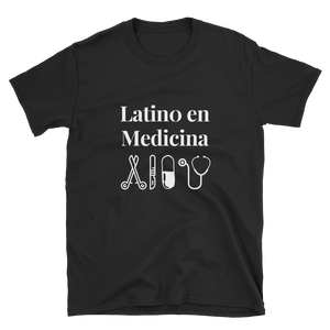 Latino en Medicina T-Shirt (Black)