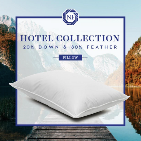 Hotel Collection 20/80 Northern Feather Pillow