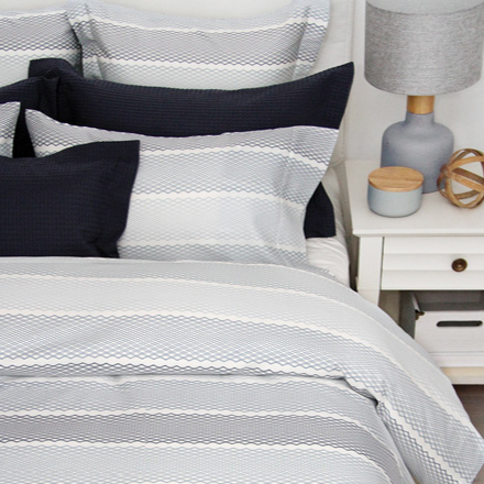 #Stripe Cuddle Down Bed Linens
