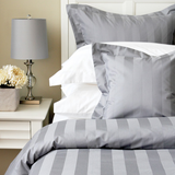 Tuxedo Stripe Cuddle Down Bed Linens