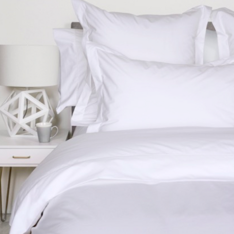 Percale Deluxe Cuddle Down Pillow Cases & Pillow Shams