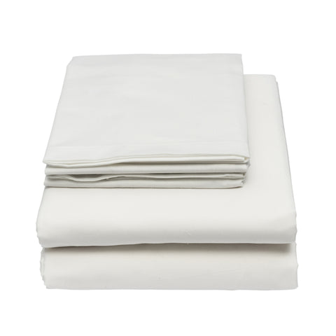Bed Sheets - Hospitality Percale ~ 200 TC 50% Cotton / 50% Polyester