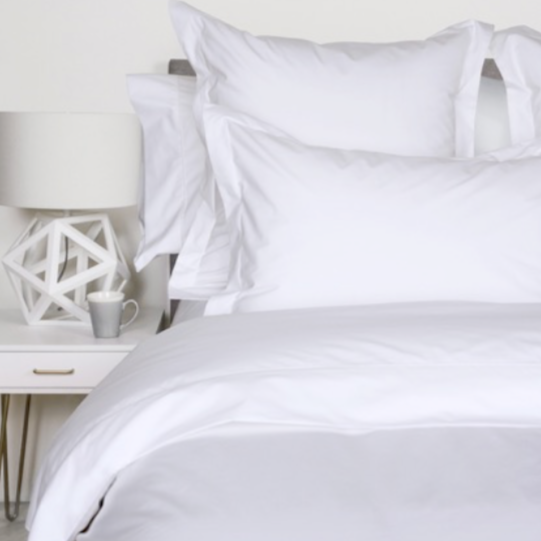 Percale Deluxe Cuddle Down Duvet & Featherbed Covers