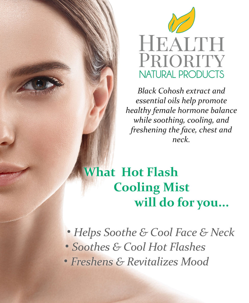 Natural & Organic Menopause & Hot Flash Cooling Mist