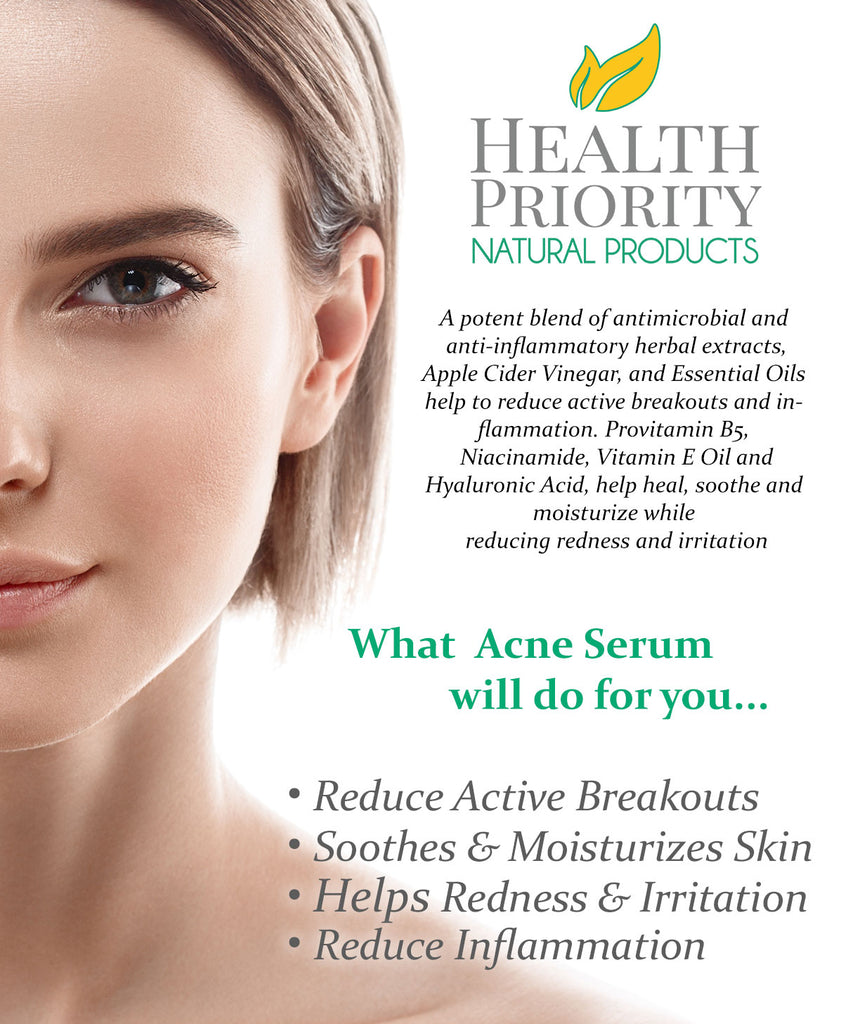 Natural & Organic Proactive Acne Serum
