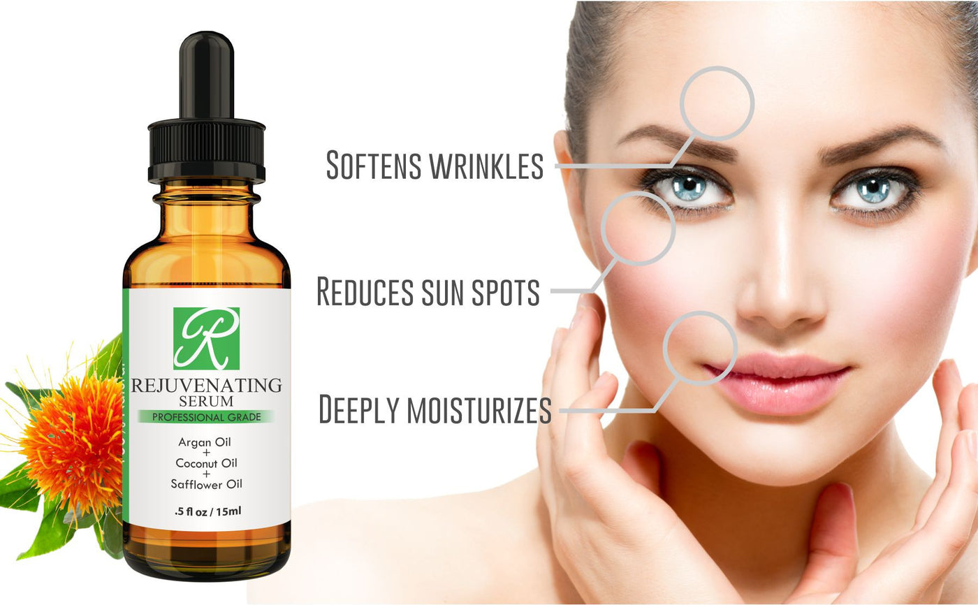 100% Natural Rejuvenating Serum