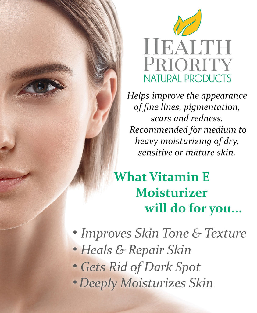 Natural Vitamin E Moisturizer Cream