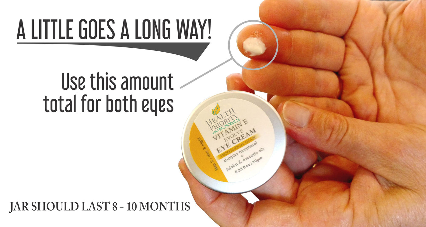 Natural Vitamin E Eye Cream