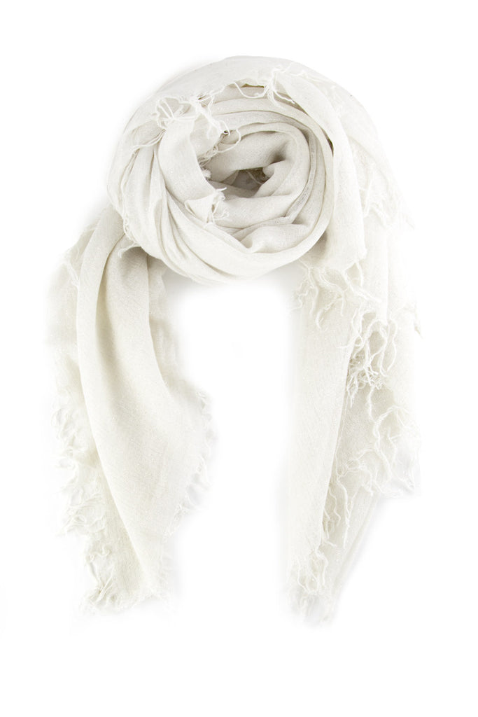 Scarf With Woven Lurex Detail