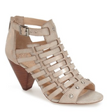 Vince Camuto Distressed Gold Eila High Heel