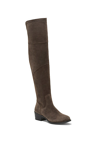Vince Camuto Bernadine Paneled Over the Knee Boot Charcoal