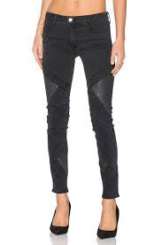 RECKLESS LEATHER SKINNY