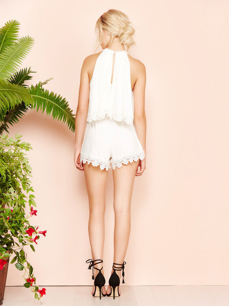 Lovers + Friends Nicki Romper