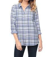 Splendid Plaid Shirt Platinum ST9941