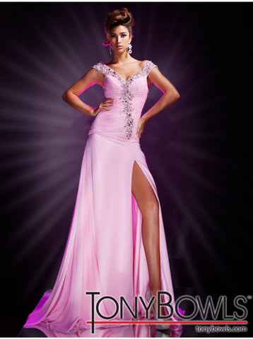 Tony Bowls Pageant Gown C09