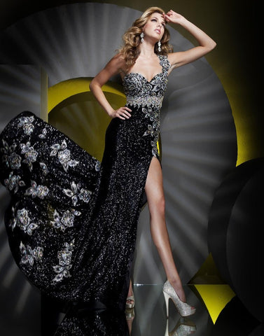 Tony Bowls Pageant Gown C28
