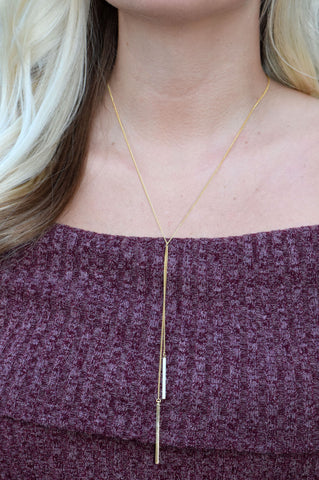 Double Drop Necklace