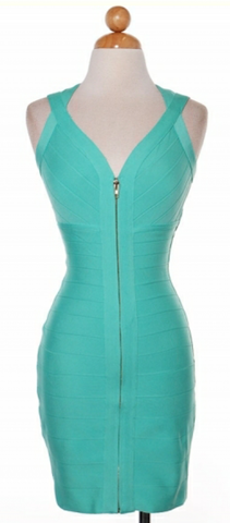 Mint Bandage Dress