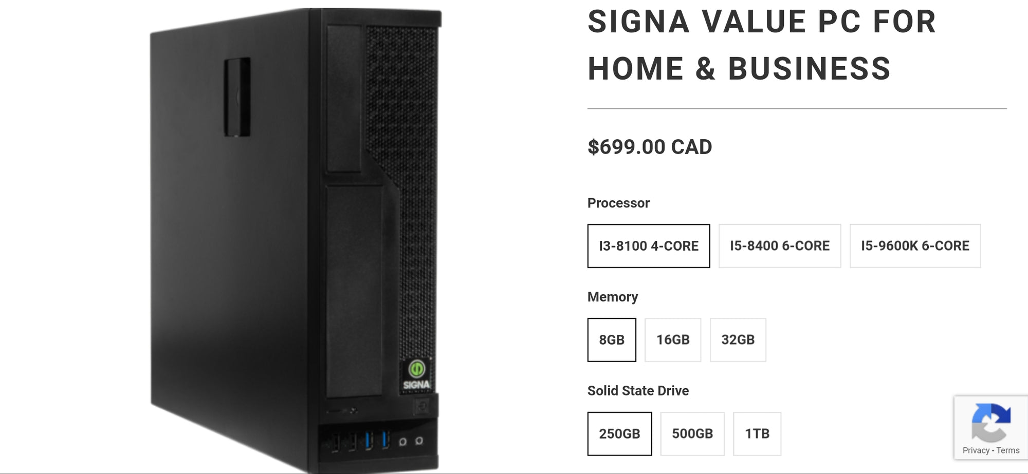 Price drop on our best selling home and office PC!