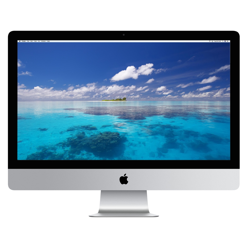 "iMac 27"" 16GB 1TB SSD 4GB Radeon (MNEA2LL/A) Refurbished with Powerful Upgrades!"