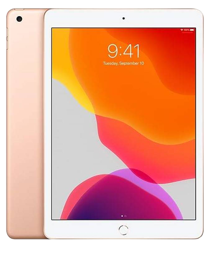 "iPad Latest 7th Gen 2019 - 10.2"" - Wifi 128GB - White / Rose Gold"
